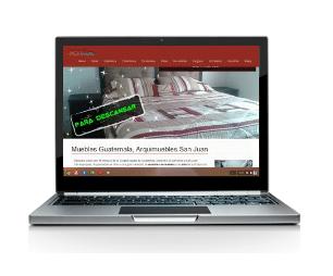 diseño de paginas web profesionales en guatemala - arquimuebles san juan