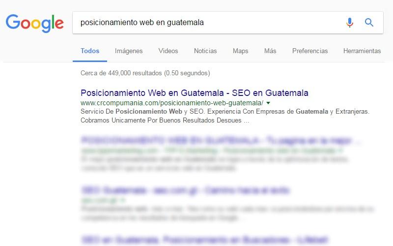 seo en guatemala