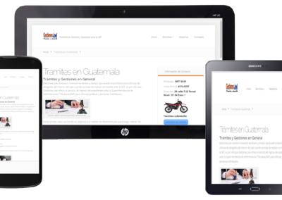 paginas web en guatemala - gestiones joel